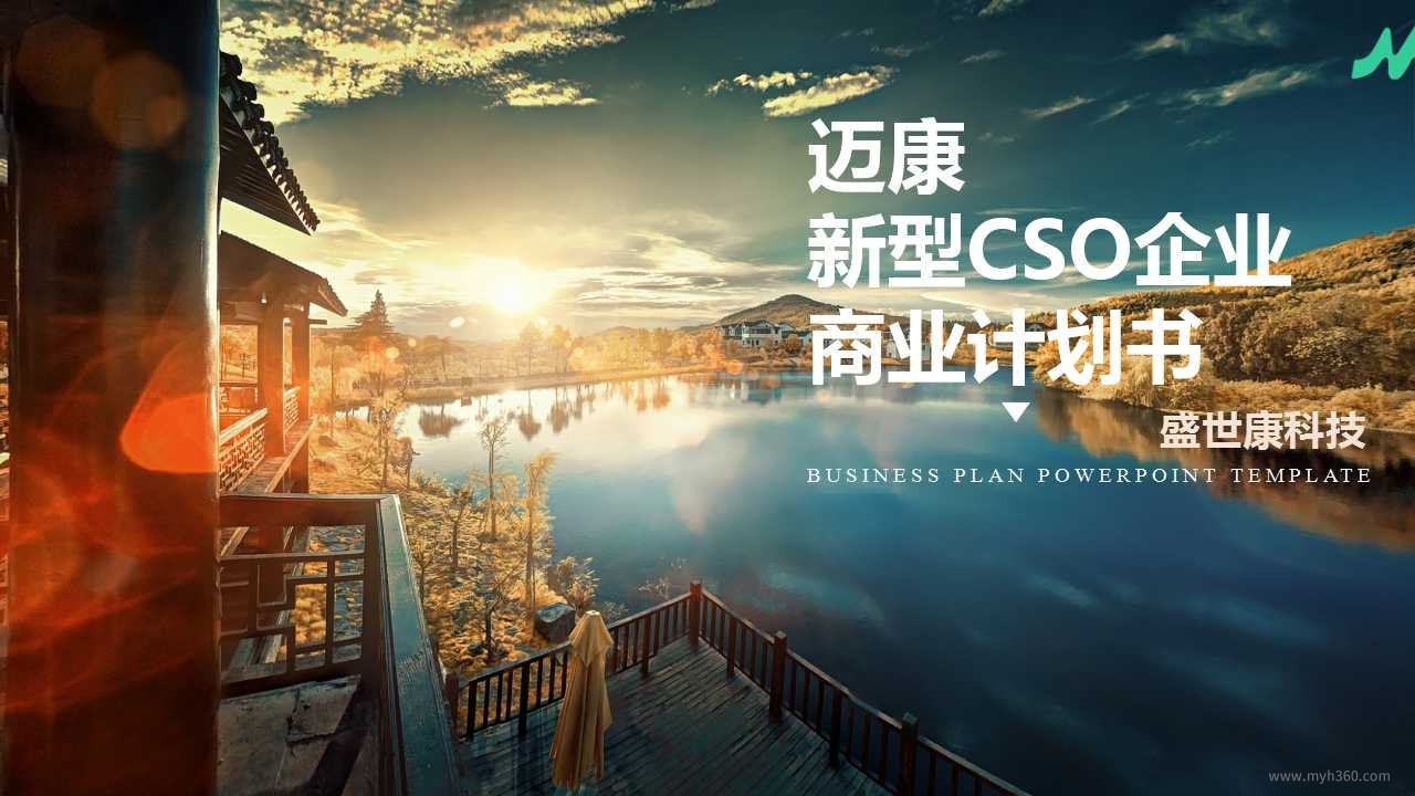 迈康新型CSO企业-盛世康科技商业计划书概要